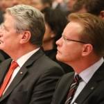 Bundespräsident Joachim Gauck (li.) und Bundesvorsitzender Thomas Dörflinger.